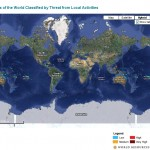 Online global reefs map