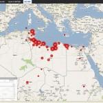 Libya crisis map
