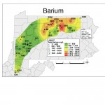 A sample map of Barium, created using ArcGis 9.3