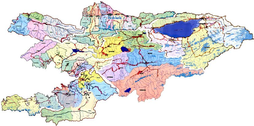 Georeferencing and Vectorizing Potential Environmental Hazards in Kyrgyzstan