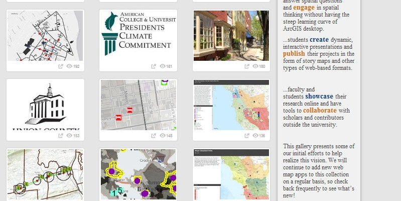 Check out our new gallery of web map apps!