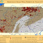 Using GIS to analyze Marcellus Shale impacts in Pennsylvania