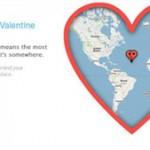 Map your Valentine