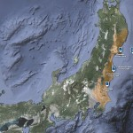 Japanese earthquake – disaster/response maps