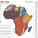 More about scale: the true size of Africa