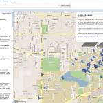 Sad maps at University of Florida
